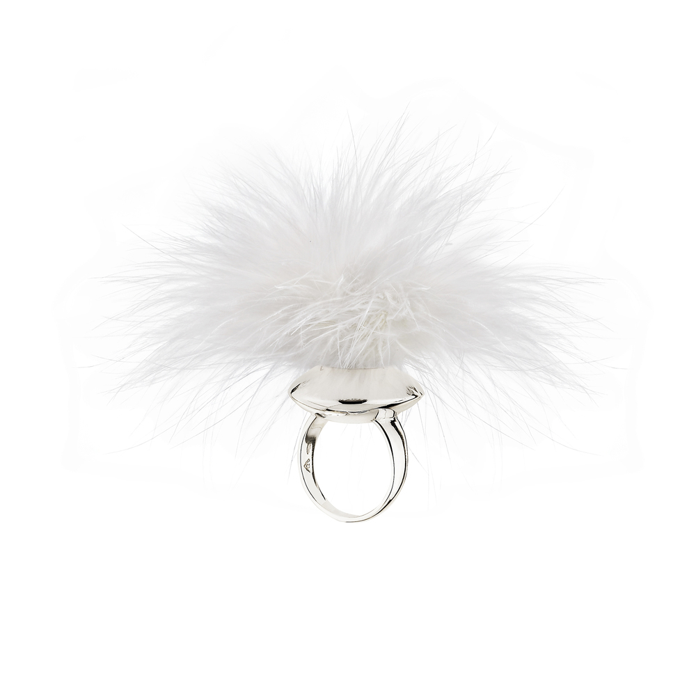 MARABOU PLEASURE PUFF RING