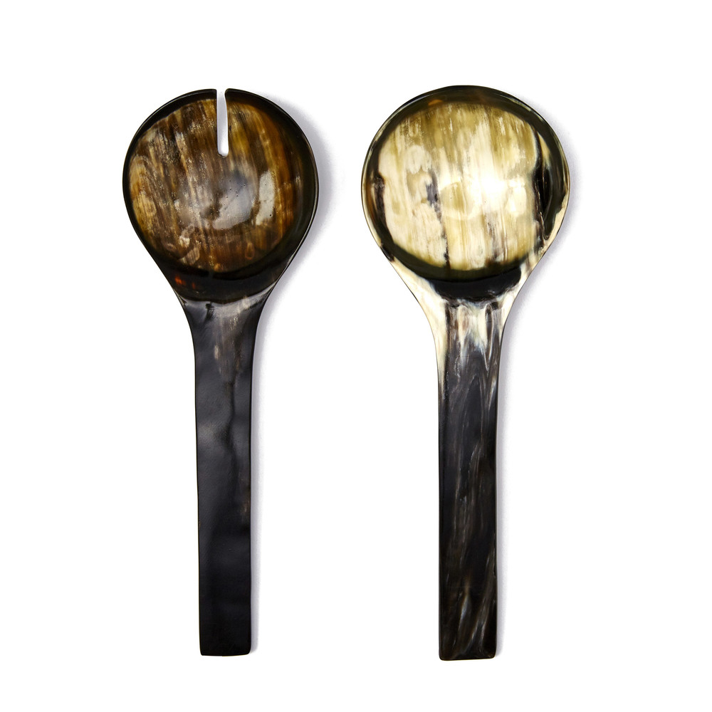 Ankole Horn Serving Spoon Set